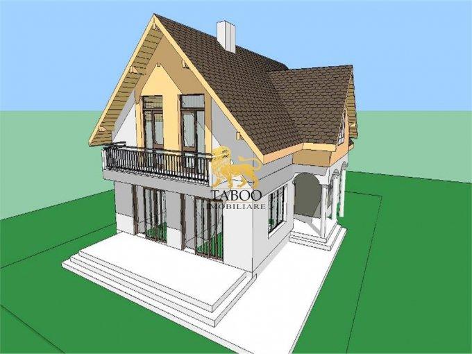 vanzare Casa Sibiu cu 4 camere, cu suprafata utila de 115 mp, 2 grupuri sanitare. 65.000 euro.. Casa vanzare Calea Cisnadiei Sibiu