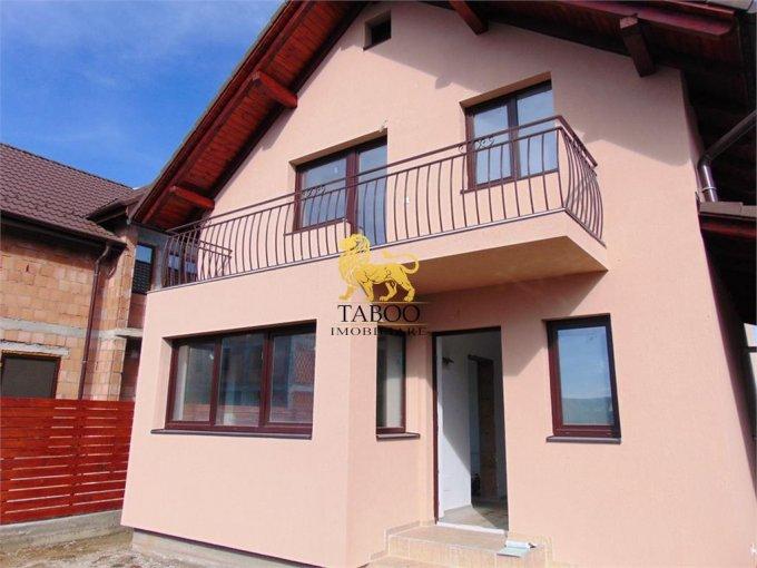 Casa de vanzare in Sibiu cu 4 camere, cu 2 grupuri sanitare, suprafata utila 120 mp. Suprafata terenului 220 metri patrati, deschidere 15 metri. Pret: 80.000 euro. Casa