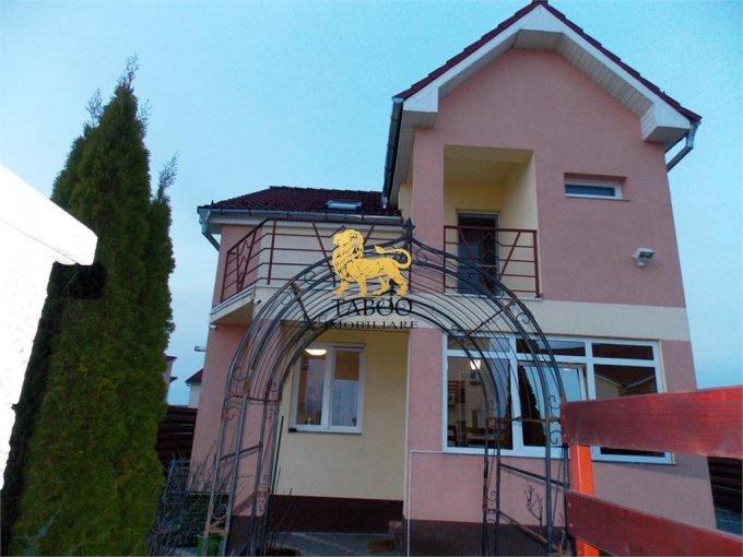 Casa de vanzare direct de la agentie imobiliara, in Sura Mica, cu 93.000 euro. 3 grupuri sanitare, suprafata utila 150 mp. Are  4 camere.