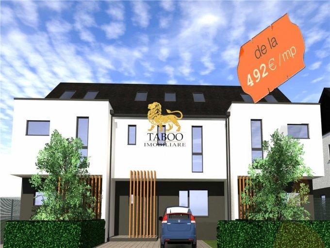 vanzare Casa Sibiu cu 4 camere, cu suprafata utila de 112 mp, 3 grupuri sanitare. 78.400 euro.. Casa vanzare Selimbar Sibiu