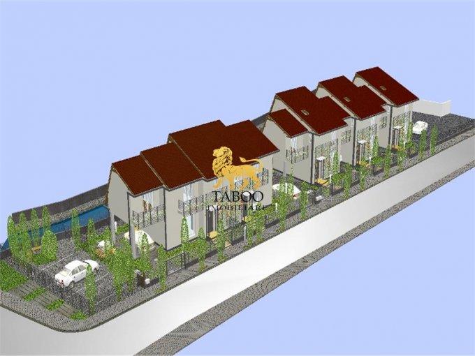 Sura Mare casa cu 4 camere, 3 grupuri sanitare, cu suprafata utila de 117 mp, suprafata teren 210 mp si deschidere de 9 metri. In comuna Sura Mare.