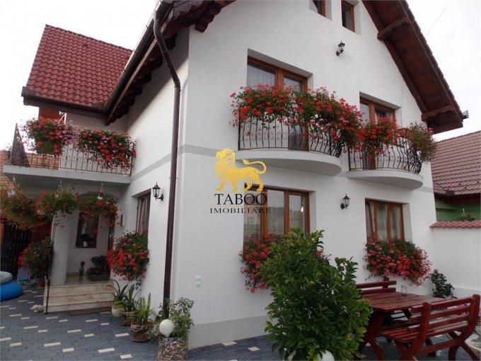 vanzare Casa Sibiu cu 4 camere, cu suprafata utila de 237 mp, 2 grupuri sanitare. 198.000 euro.. Casa vanzare Gusterita Sibiu