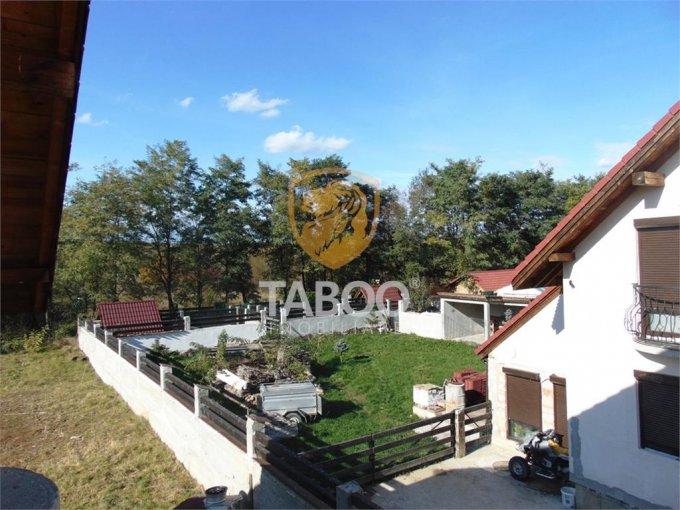 Selimbar Sibiu casa cu 4 camere, 2 grupuri sanitare, cu suprafata utila de 140 mp, suprafata teren 760 mp si deschidere de 15 metri. In orasul Sibiu Selimbar.