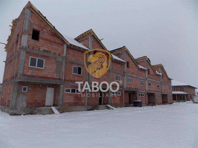vanzare Casa Sibiu Calea Cisnadiei cu 4 camere, 2 grupuri sanitare, avand suprafata utila 93 mp. Pret: 83.500 euro. agentie imobiliara vand Casa.