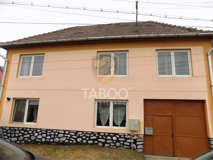 vanzare Casa Sura Mare cu 4 camere, cu suprafata utila de 174 mp, 1 grup sanitar. 125.000 euro.. Casa vanzare Sura Mare  Sibiu
