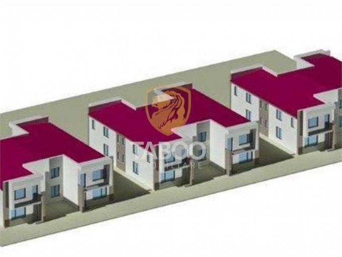 Turnisor Sibiu casa cu 4 camere, 2 grupuri sanitare, cu suprafata utila de 115 mp, suprafata teren 380 mp si deschidere de 7 metri. In orasul Sibiu Turnisor.