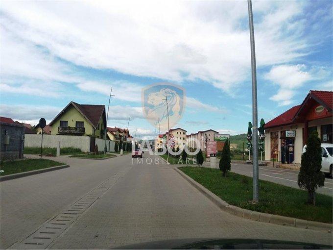 Selimbar Sibiu casa cu 4 camere, 2 grupuri sanitare, cu suprafata utila de 130 mp, suprafata teren 250 mp si deschidere de 16 metri. In orasul Sibiu Selimbar.