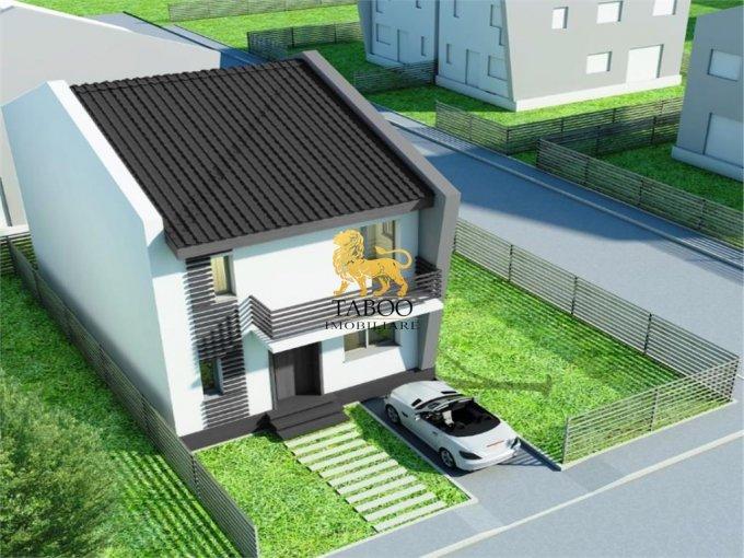vanzare Casa Sibiu Calea Cisnadiei cu 5 camere, 3 grupuri sanitare, avand suprafata utila 140 mp. Pret: 69.500 euro. agentie imobiliara vand Casa.
