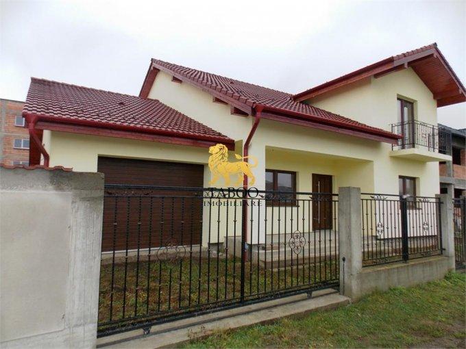 Selimbar Sibiu casa cu 5 camere, 3 grupuri sanitare, cu suprafata utila de 180 mp, suprafata teren 480 mp si deschidere de 24 metri. In orasul Sibiu Selimbar.