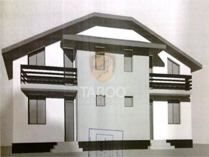 Casa de vanzare in Sibiu cu 5 camere, cu 3 grupuri sanitare, suprafata utila 110 mp. Suprafata terenului 230 metri patrati, deschidere 13 metri. Pret: 92.000 euro. Casa