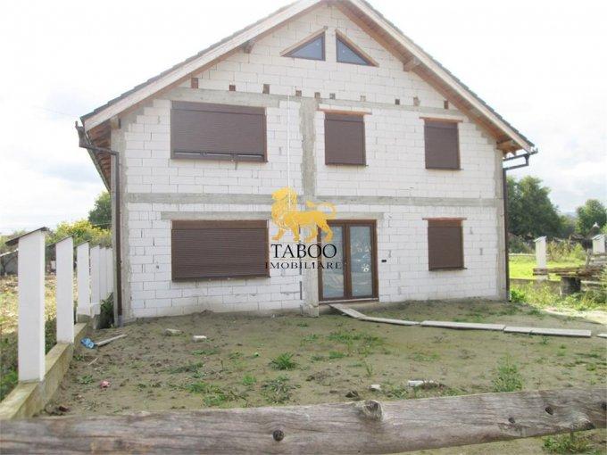 vanzare Casa Miercurea Sibiului cu 6 camere, 2 grupuri sanitare, avand suprafata utila 250 mp. Pret: 44.000 euro. agentie imobiliara vand Casa.