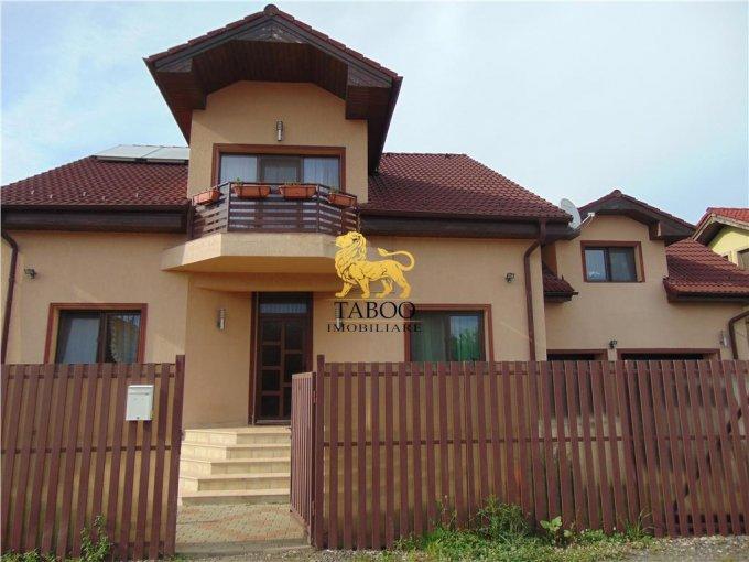 Casa de vanzare direct de la agentie imobiliara, in Sibiu, zona Selimbar, cu 185.000 euro. 3 grupuri sanitare, suprafata utila 257 mp. Are  6 camere.