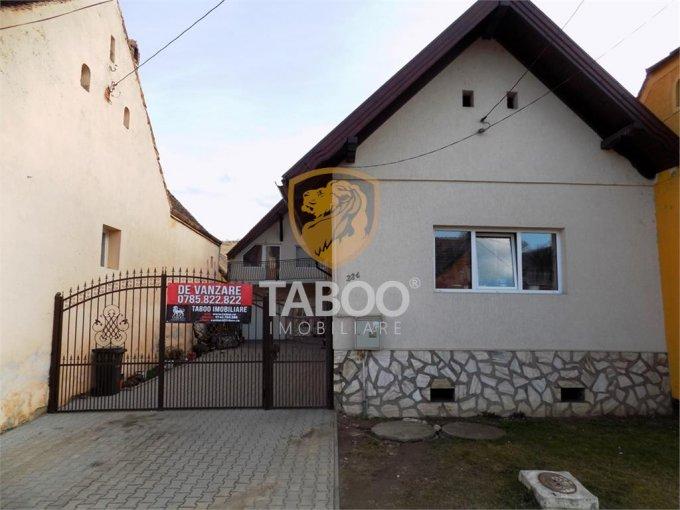 vanzare Casa Sura Mare cu 6 camere, cu suprafata utila de 232 mp, 3 grupuri sanitare. 135.000 euro.. Casa vanzare Sura Mare  Sibiu