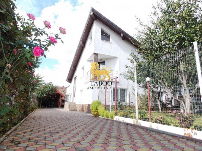 Terezian Sibiu casa cu 7 camere, 4 grupuri sanitare, cu suprafata utila de 200 mp, suprafata teren 432 mp si deschidere de 17 metri. In orasul Sibiu Terezian.