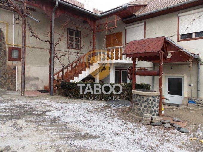 vanzare Casa Sibiu cu 7 camere, cu suprafata utila de 300 mp, 3 grupuri sanitare. 175.000 euro.. Casa vanzare Sibiu