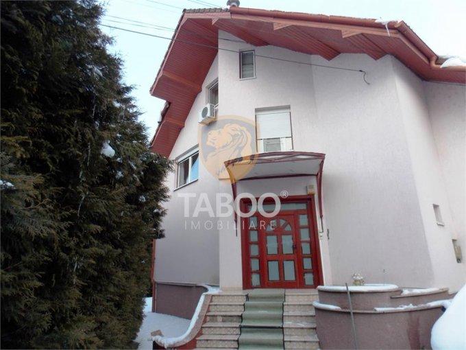 vanzare Casa Sibiu cu 9 camere, cu suprafata utila de 320 mp, 5 grupuri sanitare. 499.000 euro.. Casa vanzare Calea Dumbravii Sibiu