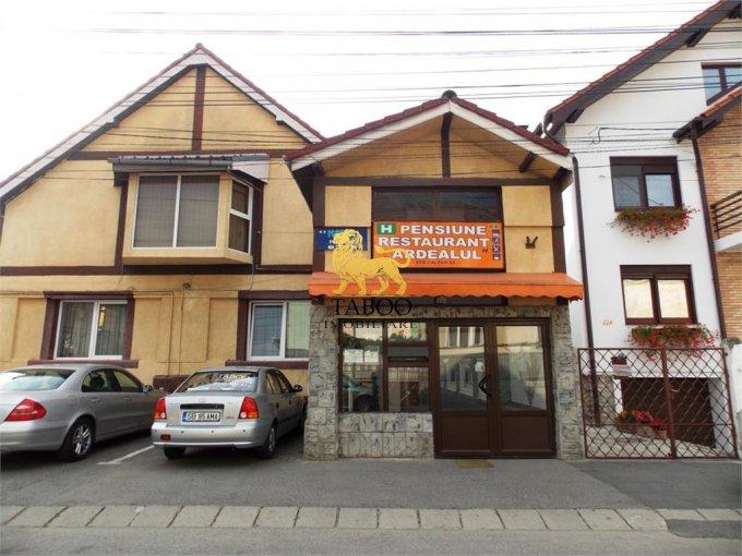 de vanzare proprietate speciala cu teren in suprafata de 400 mp si deschidere de 5 metri. In orasul Sibiu, zona Stefan cel Mare.