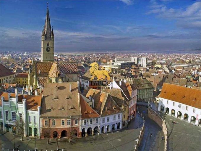 Proprietate de vanzare in Sibiu. Suprafata terenului 2000 metri patrati, deschidere 16 metri. Pret: 2.990.000 euro.