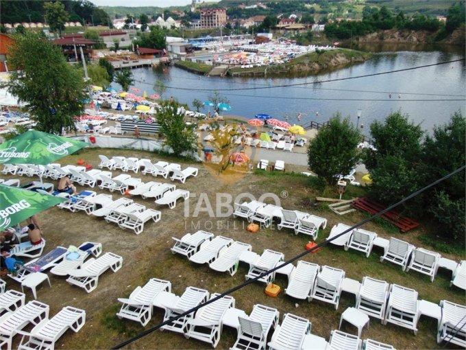 Ocna Sibiului Proprietate speciala 500 mp, deschidere 15 metri. Pret 850.000 euro. agentie imobiliara vand o proprietate speciala.