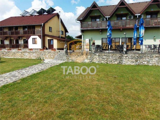 proprietate speciala de vanzare direct de la agentie imobiliara, in Ocna Sibiului, cu 350.000 euro. Suprafata de teren 1000 metri patrati cu deschidere de 15 metri.