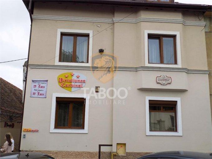 de vanzare proprietate speciala cu teren in suprafata de 284 mp si deschidere de 10 metri. In orasul Sibiu.