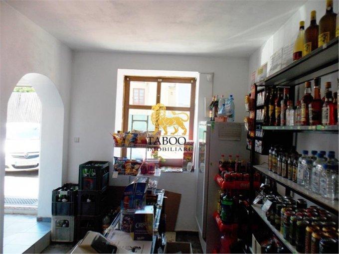 Spatiu comercial de vanzare direct de la agentie imobiliara, in Sibiu, zona Orasul de Jos, cu 34.500 euro. 1 grup sanitar, suprafata utila 20 mp.