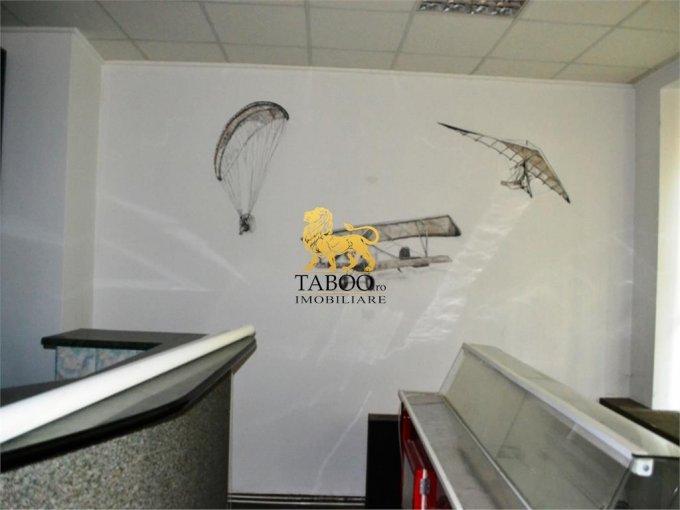Spatiu comercial inchiriere Cisnadie cu 3 incaperi de inchiriat, cu suprafata utila de 70 mp. 500 euro. Spatiu comercial Cisnadie  Sibiu