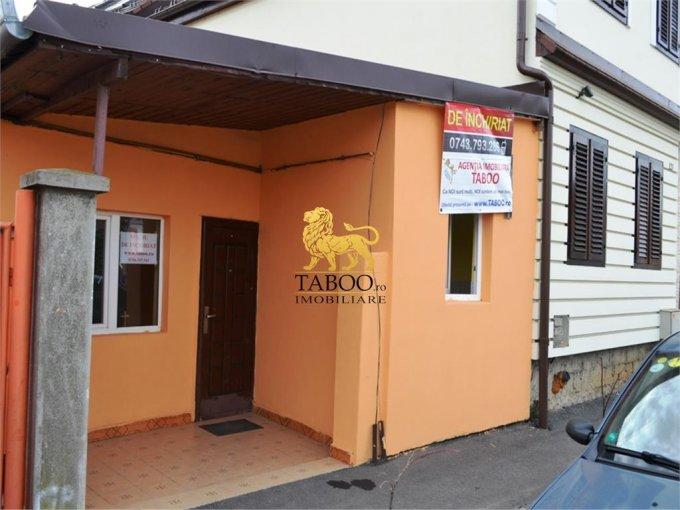 Turnisor Sibiu Spatiu comercial de inchiriat cu 2 incaperi, cu 1 grup sanitar, suprafata 40 mp. Pret: 200 euro.