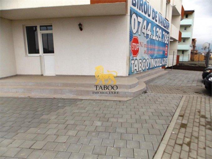 vanzare Spatiu comercial Ciresica Sibiu cu 3 incaperi, 1 grup sanitar, avand suprafata de 52 mp. Pret: 79.000 euro. agentie imobiliara vand Spatiu comercial.
