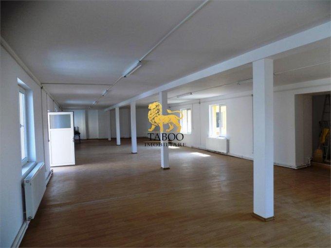 inchiriere Spatiu comercial Terezian Sibiu cu 4 incaperi, 1 grup sanitar, avand suprafata de 264 mp. Pret: 1.400 euro. agentie imobiliara inchiriez Spatiu comercial.