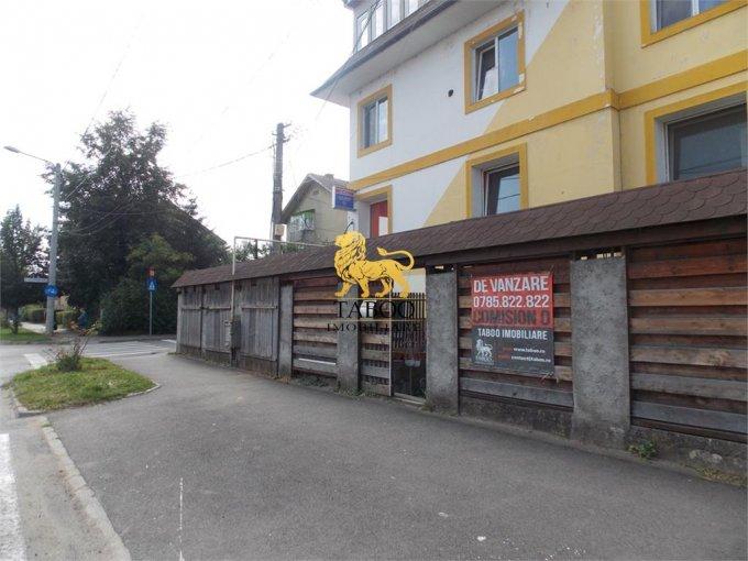 de vanzare spatiu comercial cu 4 incaperi, 2 grupuri sanitare, suprafata de 112 mp. In orasul Sibiu, zona Stefan cel Mare. 75.000 euro.