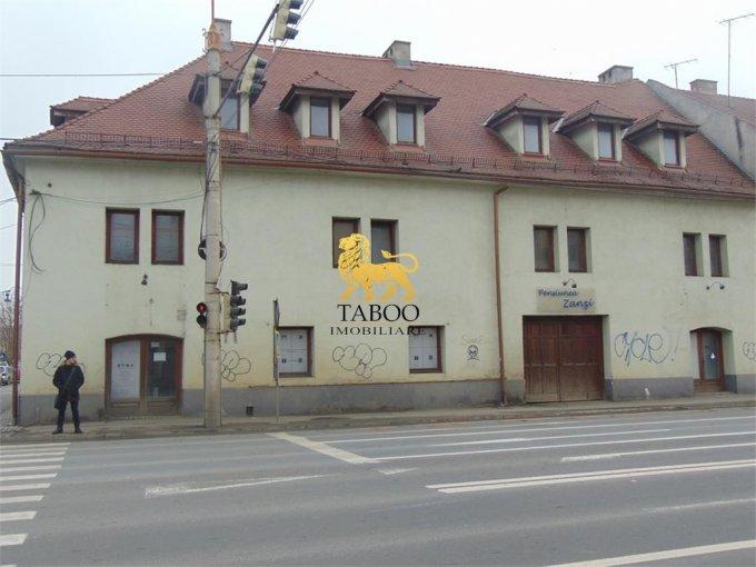 de inchiriat spatiu comercial cu 5 incaperi, 2 grupuri sanitare, suprafata de 284 mp. In orasul Sibiu. 1.500 euro.