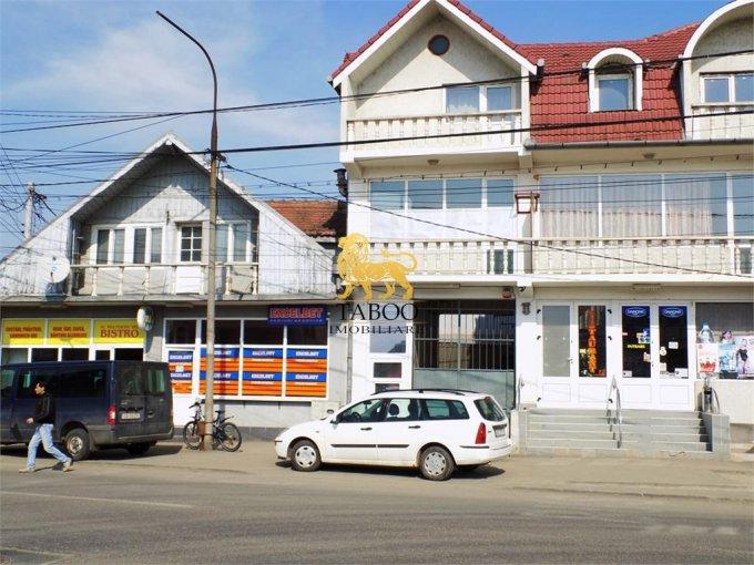 de inchiriat spatiu comercial cu 1 incapere, 1 grup sanitar, suprafata de 32 mp. In orasul Sibiu, zona Compa. 450 euro.