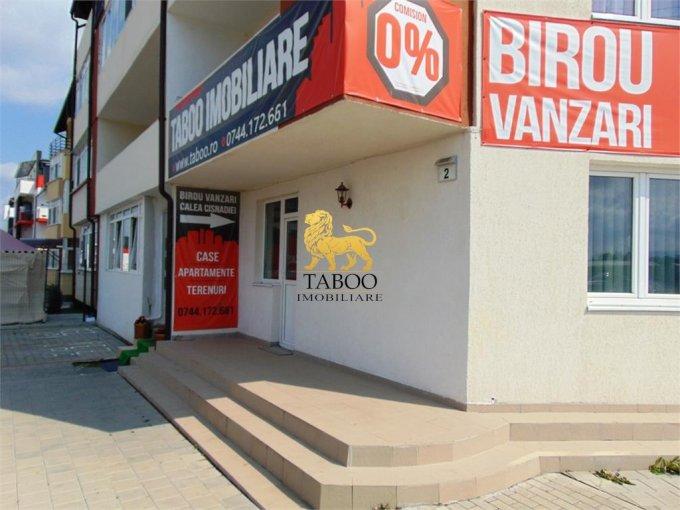 Calea Cisnadiei Sibiu Spatiu comercial de vanzare cu 3 incaperi, cu 1 grup sanitar, suprafata 60 mp. Pret: 120.000 euro.