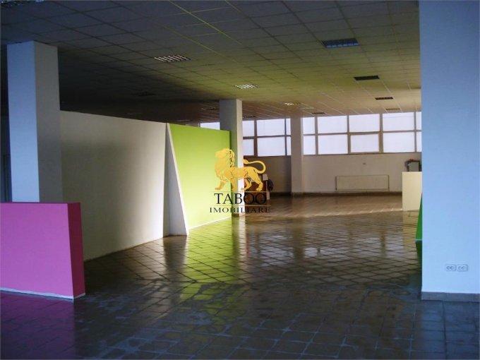 de inchiriat spatiu comercial cu 1 incapere, 2 grupuri sanitare, suprafata de 1355 mp. In orasul Sibiu, zona Orasul de Jos. 10.200 euro.