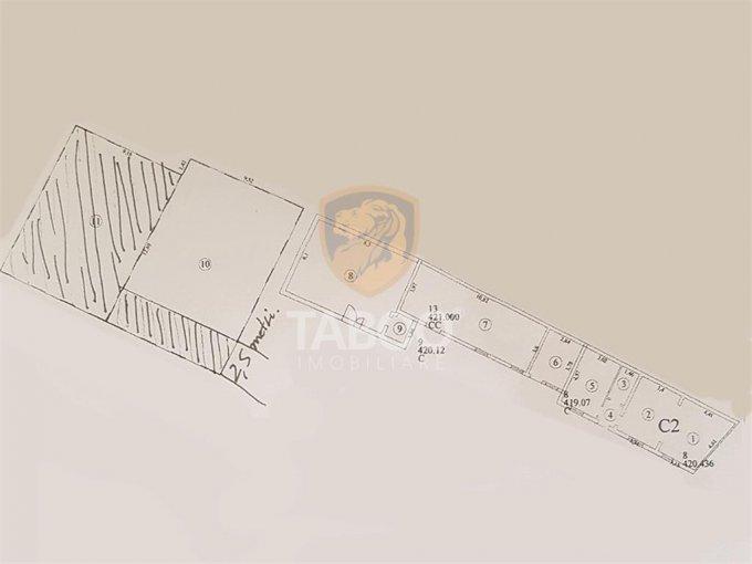 Spatiu comercial inchiriere Turnisor Sibiu cu 3 incaperi de inchiriat, cu suprafata utila de 225 mp. 1.200 euro. Spatiu comercial Turnisor Sibiu