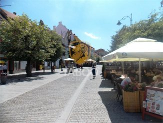 inchiriere Spatiu comercial 115 mp cu 3 incaperi, 1 grup sanitar, orasul Sibiu