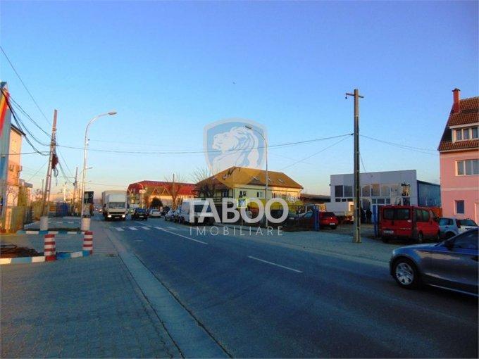 Spatiu comercial de vanzare direct de la agentie imobiliara, in Sibiu, zona Selimbar, cu 375.000 euro. 2 grupuri sanitare, suprafata utila 525 mp.