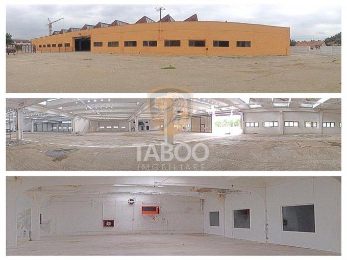 Cisnadie Spatiu industrial de vanzare cu 3 incaperi, cu 4 grupuri sanitare, suprafata 5200 mp. Pret: 975.000 euro.