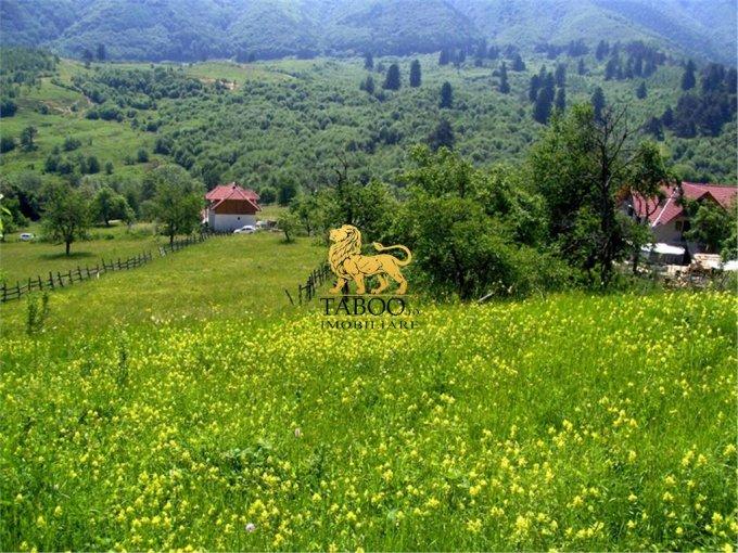de vanzare teren intravilan cu suprafata de 2700 mp si deschidere de 24 metri. In localitatea Cisnadioara.