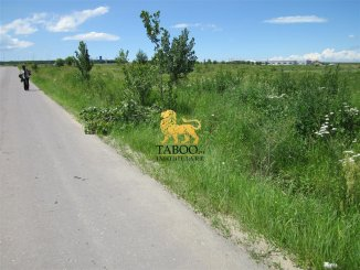 Sibiu Selimbar, teren intravilan de vanzare de la agentie imobiliara
