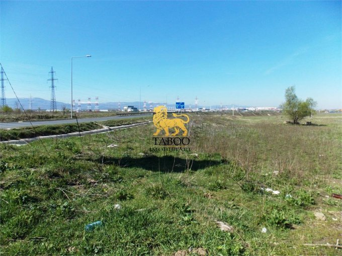 de vanzare teren intravilan cu suprafata de 6000 mp si deschidere de 100 metri. In orasul Sibiu, zona Broscarie.