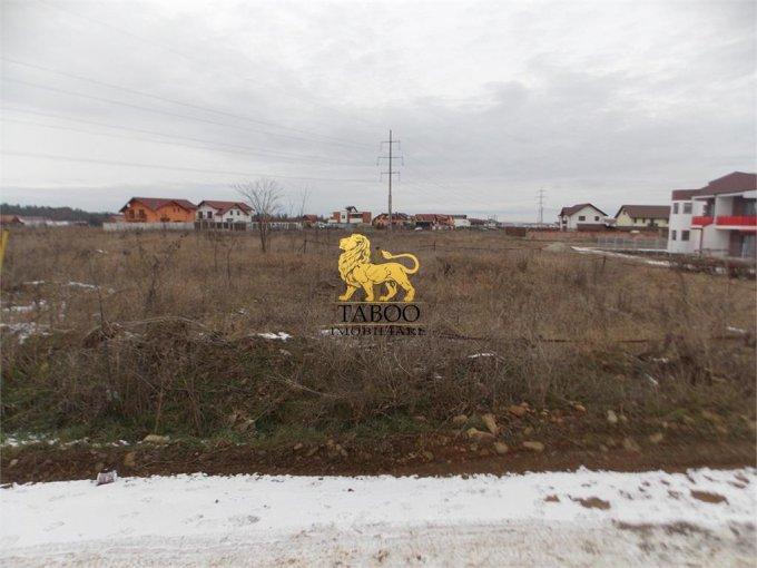 Teren intravilan de vanzare in Sibiu, zona Calea Cisnadiei. Suprafata terenului 462 metri patrati, deschidere 26 metri. Pret: 43.000 euro.