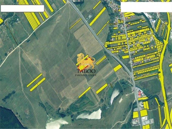 Teren vanzare de 12400 metri patrati, intravilan. 124.000 euro. Teren  Selimbar  Sibiu