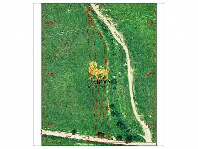 de vanzare teren intravilan cu suprafata de 4163 mp si deschidere de 20 metri. In orasul Sibiu.