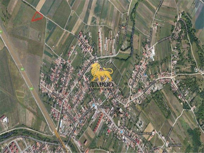 de vanzare teren intravilan cu suprafata de 1800 mp si deschidere de 54 metri. In orasul Sibiu, zona Gusterita.