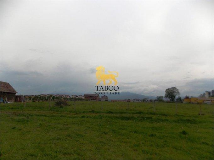 Calea Cisnadiei Teren intravilan vanzare 8600 mp, deschidere 36 metri. Pret: 206.400 euro. agentie imobiliara vand teren intravilan