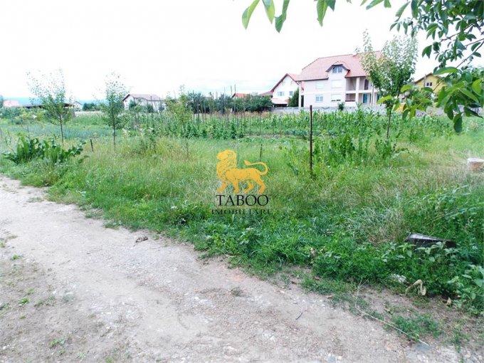 Teren intravilan de vanzare direct de la agentie imobiliara, in Sibiu, zona Tiglari, cu 33.000 euro. Suprafata de teren 600 metri patrati cu deschidere de 21 metri.