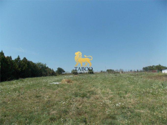 Teren intravilan de vanzare direct de la agentie imobiliara, in Sibiu, zona Turnisor, cu 46.000 euro. Suprafata de teren 975 metri patrati cu deschidere de 16 metri.