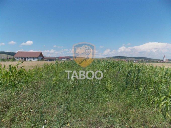 Teren vanzare de 6000 metri patrati, intravilan. 120.000 euro. Teren  Cristian  Sibiu